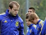 ФОТОрепортаж: открытая тренировка сборной Украины (32 фото)