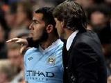 Роберто Манчини: «Для возвращения в основу Тевесу нужно еще около двух недель поиграть за дубль»