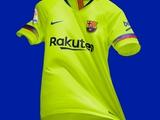 «Барселона» представила новый выездной комплект формы (ФОТО)