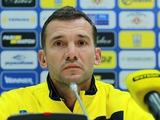 Андрей Шевченко: «В матче со Словакией нам нужна победа»