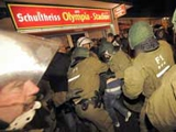 Футбольные беспорядки в Германии