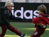 Андрей Шевченко: «С сыновьями говорю, в основном, по-английски»