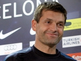 Виланова остается работать в «Барселоне»