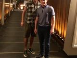 Артем Кравец: «Вместе с одним из лучших форвардов мира» (ФОТО)