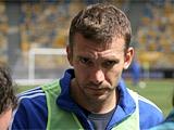 Андрей Шевченко: «Не думаю о том, чтобы остаться в Европе»