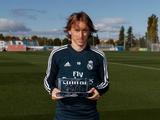 Модрич стал лучшим игроком года по версии Goal.com