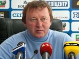 Владимир Шаран: «Я не против взять кого-нибудь из «Арсенала» в «Александрию»