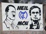 Моуринью нарисовали с Гитлером на одном плакате (ФОТО)