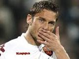 Фанаты «Ромы» высказали Тотти свое недовольство игрой клуба