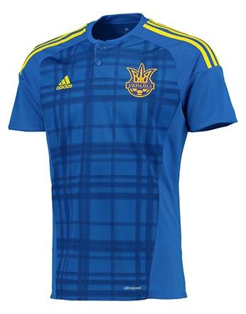 Сборная Украины, Игровая футболка Adidas Away Kit 2016/18