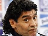 Марадона планирует запустить свой телеканал
