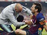 Лионель Месси не сможет сыграть с «Реалом»
