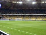 Сегодня сборная Украины опробует поле «Олимпийского»