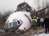 Разбившийся вчера в России Ту-154 арендовали для сборной Бельгии