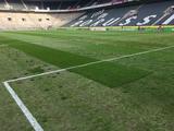 Ужасный газон на стадионе «Боруссия-парк» (ФОТО)