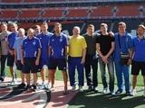 Ветераны «Динамо» побывали на «Донбасс Арене»