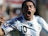 Рикельме уходит из сборной Аргентины