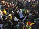 Матч между Нигерией и КНДР пришлось прервать из-за массовой давки