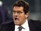 Капелло назвал состав на матч с Украиной