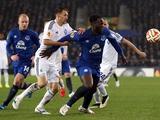 «Динамо» уступило «Эвертону» в первом матче 1/8 финала Лиги Европы (ВИДЕО)