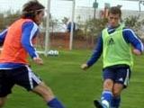 «Динамо» в Израиле: день четвертый. Пробитый мяч и похвала от Милевского