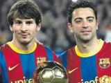 Хави: «Надеюсь, что Месси снова выиграет Золотой Мяч»