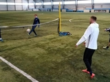 Динамовцы уже занимаются в манеже Конча-Заспы (ФОТО)