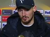 Денис Бойко: «Может, там и не было ошибок, а хорошо сыграли итальянцы»