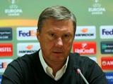 Александр Хацкевич: «Надеюсь, c «Арсеналом» или «Миланом» мы сыграем в следующих раундах»