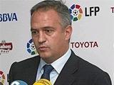 Президент испанской лиги: «Появление потолка зарплат было бы ошибочным решением»