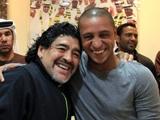 Роберто Карлос предложил Марадоне сыграть товарищеский матч