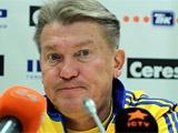 Олег БЛОХИН: «Пока сам не знаю, кто будет играть с Чехией» (+ФОТО тренировки)