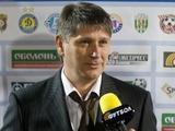 Ковалец: «Молодежная сборная Украины выполнила задание и довела дело до победы»