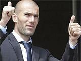 Зидан провел переговоры с федерацией футбола Франции