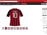 «Милан» начал продавать футболки с фамилией Хонды