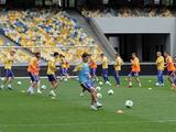 ФОТОрепортаж: тренировка сборной Украины на НСК «Олимпийский» (40 фото)