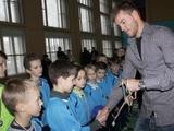 На праздники Андрей Ярмоленко играл в футбол в Чернигове