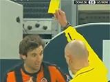 «Шахтер» хочет отменить желтую карточку Срны