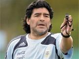 Марадона не захотел общаться в Мосвке с прессой
