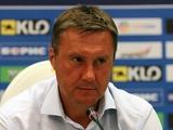 «Динамо» — «Черноморец» — 2:1. Послематчевая пресс-конференция