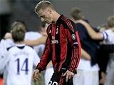 «Милан» установил рекорд по количеству нулевых ничьих в ЛЧ