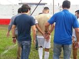В Бразилии полиция арестовала игрока во время матча
