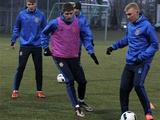 ФОТОрепортаж: тренировка сборной Украины в Конча-Заспе (20 фото)