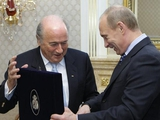 Путин заявил, что с Блаттером договорился