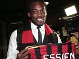 Майкл Эссьен: «Хочу выигрывать трофеи с «Миланом»