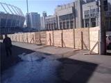 Северный вход «Олимпийского» закроют на реконструкцию