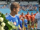 Леонид Буряк отметил свой юбилей красочным матчем