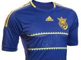 Представлена новая гостевая форма сборной Украины
