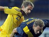 Украина — Швеция — 0:1. Отчет о матче