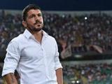 Гаттузо был удален с тренерской скамейки «Палермо»